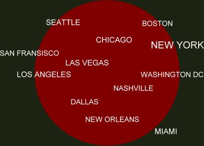 Map of USA America